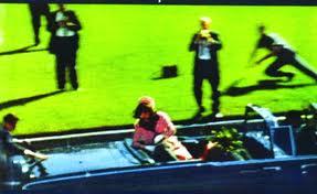 JFK is shot