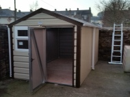 New shed is in