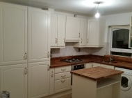 New kitchen completed with island