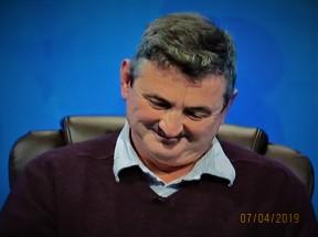 "My smug smile at Rachel's ""Oooh Charlie"""
